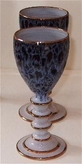 hand thrown goblet by chris soule